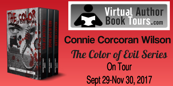 Color Of Evil Series by Connie Corcoran Wilson