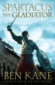 Spartacus the Gladiator by Ben Kane, Book Tour, Author Tour