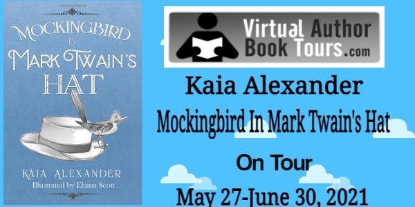 Mockingbird in Mark Twain's Hat by Kaia Alexander